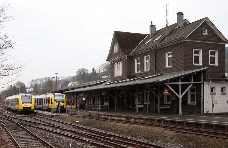 Bahnhof Hilchenbach (c) A. Walder
